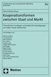 Kooperationsformen zwischen Staat und Markt