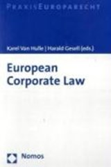 European Corporate Law | auteur onbekend |