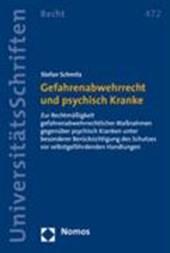 Gefahrenabwehrrecht und psychisch Kranke