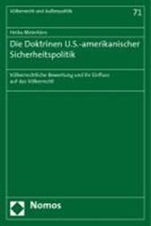 Die Doktrinen U.S.-amerikanischer Sicherheitspolitik