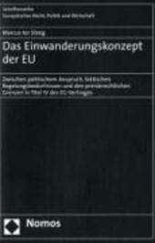 Das Einwanderungskonzept der EU