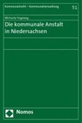 Die kommunale Anstalt in Niedersachsen