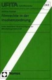 Filmrechte in der Insolvenzordnung