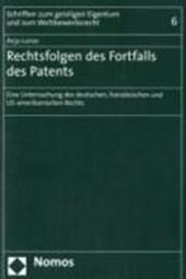 Rechtsfolgen des Fortfalls des Patents