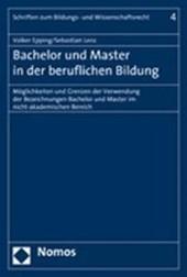 Bachelor und Master in der beruflichen Bildung