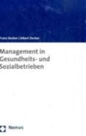 Management in Gesundheits- und Sozialbetrieben