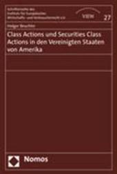 Class Actions und Securities Class Actions in den Vereinigten Staaten von Amerika