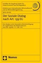 Der Soziale Dialog nach Art. 139 EG