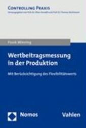 Wertbeitragsmessung in der Produktion