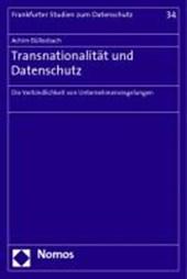 Transnationalität und Datenschutz