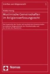 Muslimische Gemeinschaften im Religionsverfassungsrecht