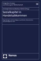 Sozialkapitel in Handelsabkommen