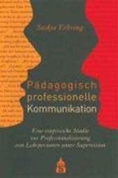 Pädagogisch professionelle Kommunikation