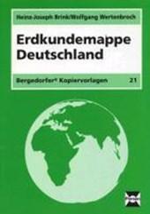 Erdkundemappe Deutschland