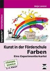 Kunst in der Förderschule: Farben