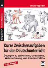 Kurze Zwischenaufgaben für den Deutschunterricht