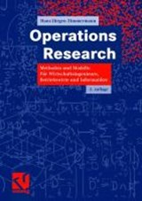 Operations Research | Hans-Jürgen Zimmermann |