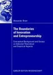 Essays on Innovation Management and Entrepreneurship
