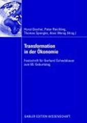 Transformation in der Ökonomie