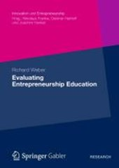 Evaluating Entrepreneurship Education