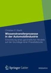 Wissenstransferprozesse in der Automobilindustrie
