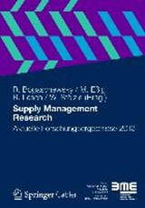 Supply Management Research |  |