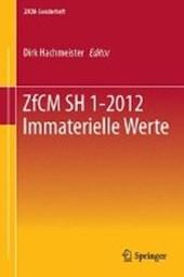 ZfCM SH 1-2012 Immaterielle Werte