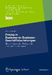 Pricing in Business-to-Business-Geschäftsbeziehungen