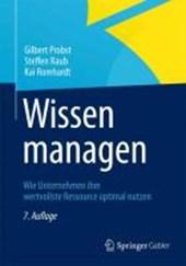 Wissen managen