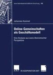 Online-Gemeinschaften als Geschäftsmodell