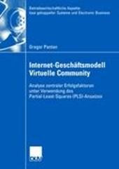 Internet-Geschäftsmodells Virtuelle Community