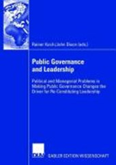 Public Governance and Leadership |  |