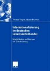 Internationalisierung im deutschen Lebensmittelhandel