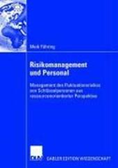 Risikomanagement und Personal