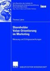 Shareholder Value-Orientierung im Marketing | Thomas Lüers |