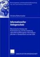 Informationeller Anlegerschutz