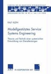 Modellgestütztes Service Systems Engineering