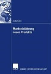 Markteinführung neuer Produkte