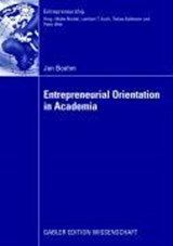 Entrepreneurial Orientation in Academia | Jan Boehm |