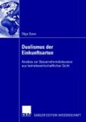 Dualismus der Einkunftsarten