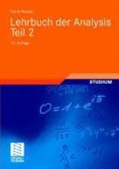 Lehrbuch der Analysis. Teil