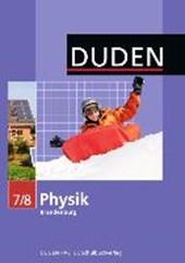 Physik 7/8 Lehrbuch. Brandenburg
