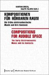 Kompositionen für hörbaren Raum / Compositions for Audible Space | BRECH,  Martha |