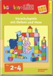 bambinoLÜK. Erstes Lernen mit Elefant und Hase: 2 - 4 Jahre