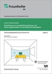 Entwicklung von Leuchtdichteverteilungs- und Steuerungskonzepten für den Bildschirmarbeitsplatz