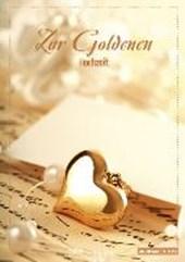 Geschenkheft Zur Goldenen Hochzeit - im Kuvert