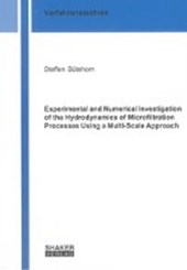Bütehorn, S: Experimental and Numerical Investigation of the