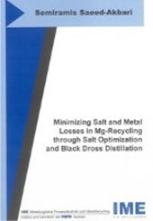 Minimizing Salt and Metal Losses in Mg-Recycling through Salt Optimization and Black Dross Distillation
