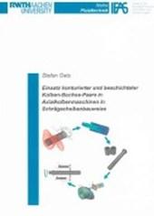 Einsatz konturierter und beschichteter Kolben-Buchse-Paare in Axialkolbenmaschinen in Schrägscheibenbauweise