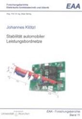 Stabilität automobiler Leistungsbordnetze